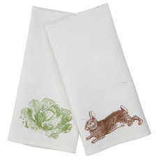 Traditional Dishtowels by Wisteria
