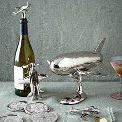 Godinger Airplane Barware -