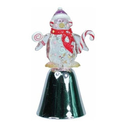 WL - 4 Inch Ceramic Penguin Bell Winter Figurines Handcrafted Statues - This gorgeous 4 Inch Ceramic Penguin Bell Winter Figurines Handcrafted Statues has the finest details and highest quality you will find anywhere! 4 Inch Ceramic Penguin Bell Winter Figurines Handcrafted Statues is truly remarkable.