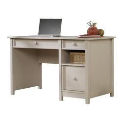 Sauder - Sauder Original Cottage Desk in Cobblestone - Sauder - Home Office Desks - 414142