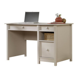 Sauder - Sauder Original Cottage Desk in Cobblestone - Sauder - Home Office Desks - 414142
