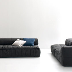 Modern sofa beds - SB 06 - Modern sofa beds, sectional sofa beds, sofa beds storage, wall beds, Italian furniture, modern furniture, designer furniture, transformable furniture and space saving furniture.
