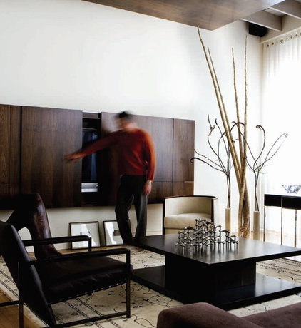 Contemporary Living Room by Joel Kelly Design