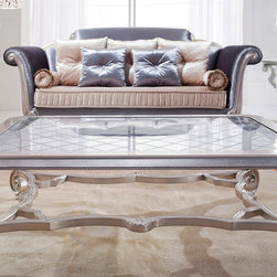 Valence - Glass Top Coffee Table -