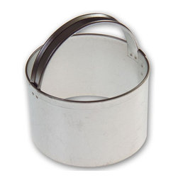 RM - Biscuit Cutter 2 3/8 In. B1702X - Biscuit Cutter cookie cutter, made of sturdy tin, Size 2 3/8 in., Cutting Depth 1 5/8 in., Color silver