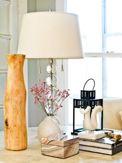 My Houzz Feminine Chic Charms In A Chicago Rental