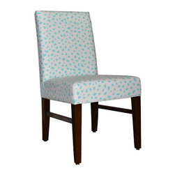 Belle Chaise - Upholstered Desk Chair - Side chair, desk chair, accent chair, or dining chair.