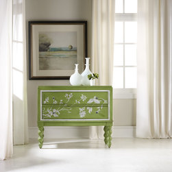 Hooker Furniture - Hooker Furniture Melange Spring Garden Chest 638-85084 - Come closer to Melange, and you will discover something unexpected, an eclectic blending of colors, textures and materials in a vibrant collection of one-of-a-kind artistic pieces.