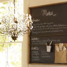 eclectic bulletin board by Pottery Barn