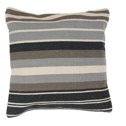 """Jaipur - Jaipur CD57 Pillow, 18""""X18"""" - Hand woven from 100% cotton the Cadiz pillow collection offers a range of open geometrics in bold color combinations. The collection coordinates with Jaipur Maroc and Urban bungalow flat weave rugs."""