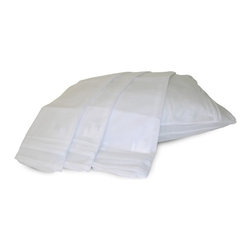 Permafresh - Permafresh Pillow Protector Set - 4 Pack Multicolor - 2043411 - Shop for Pillowcases and Shams from Hayneedle.com! Breakthrough technology provides long-lasting protection with the Permafresh Pillow Protector Set - 4 Pack. These pillow protectors are made from 100% polypropylene which is biodegradable and easy to care for. It protects against hundreds of bacteria types bed bugs dust mites and insects keeping your pillows clean and giving you peace of mind. For best results spot clean these protectors; if necessary machine wash in cold water and tumble dry on low heat. Don't bleach them. About Epoch Hometex:Determined to provide the very best in contemporary fabrics to the luxury home decor market Epoch understands that today's consumers want traditional quality in a style to fit today's world. Created by PM Lam Epoch understands that customer satisfaction is crucial; to that end they produce only the very best products with superior materials and craftsmanship to last.