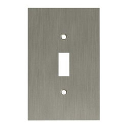 Liberty Hardware - Liberty Hardware 64932 Concave WP Collection 3.15 Inch Switch Plate - A simple change can make a huge impact on the look and feel of any room. Change out your old wall plates and give any room a brand new feel. Experience the look of a quality Liberty Hardware wall plate. Width - 3.15 Inch, Height - 4.9 Inch, Projection - 0.4 Inch, Finish - Satin Nickel, Weight - 0.36 Lbs.