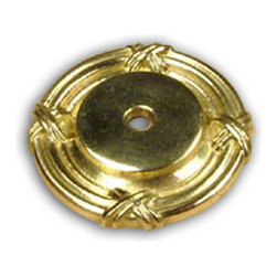 Century Hardware - Solid Brass - Backplate - Polished Brass (CENT18069-3) - Solid Brass - Backplate - Polished Brass (CENT18069-3)