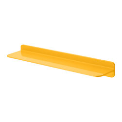 Sabi - 45cm/60cm Shelf, Yellow, Length: 60cm - The elegant, floating Shelf delivers endless flexibility and lets you plan for your personal storage needs.