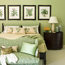 Green Room Decorating Ideas - Green Decor Ideas - House Beautiful