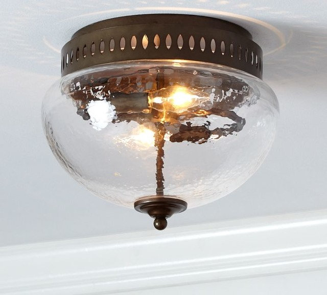 Traditional Flush-mount Ceiling Lighting by Pottery Barn