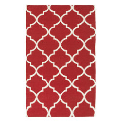 Artistic Weavers - Artistic Weavers York Mallory (Coral) 8' x 10' Rug - This Hand Woven rug would make a great addition to any room in the house. The plush feel and durability of this rug will make it a must for your home. Free Shipping - Quick Delivery - Satisfaction Guaranteed