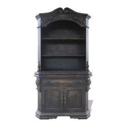 Alique Cabinet - Alique Cabinet, Fresco Brown Torched,