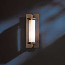 Fuse Small Outdoor Wall Sconce & Hubbardton Forge Outdoor Lighting   YLighting