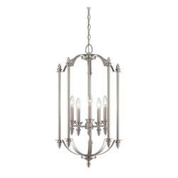 Savoy House Lighting - Savoy House Lighting 3-4501-5-69 Foyer Transitional Foyer Light - Savoy House Foyer lights will bring illumination to any entryway space with a timeless style that you will love for years to come. Choose from pewter or English bronze finishes.