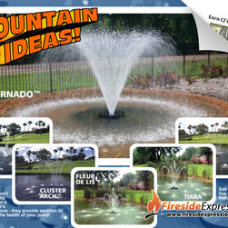 Aqua Control, Inc. - Custom Water Features - The Evolution™ series of floating fountains aren't just another pretty addition to your landscape!