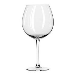 Libbey 9401RL XXL Wineglasses - Simple wineglasses are perfect for a retro holiday table.