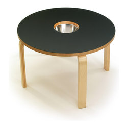 OFFI - Woody Chalkboard Table Black - Designed by OFFI.