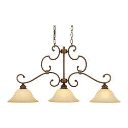 Golden Lighting - Golden Lighting 3711-10 CB Island Light - Golden Lighting 3711-10 CB Island Light