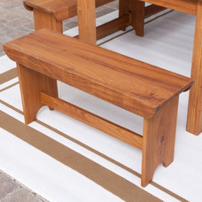Contemporary Outdoor Benches by Hayneedle