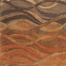 Rugs Alliyah Handmade Multi Abstract New Zealand Blend Wool Rug (10' x 10')