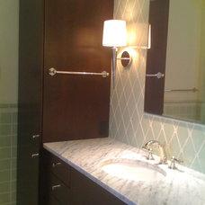 Modern Bathroom by K.Marshall Design Inc.