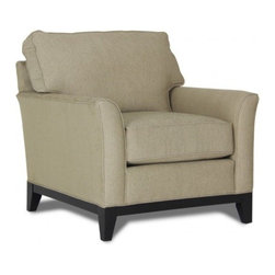 Beachfront Chair - This great transitional chair features beige chenille fabric and will look fantastic in your living area today. Its transitional frame with square seat and back cushions complement a variety of styles. Elegant, neutral tone upholstery covering the chair will create a warm, inviting feeling. High-density foam cores with no sag springs make this piece both durable and relaxing. Oh so comfy and guaranteed to last - Gallery Furniture delivers TODAY!