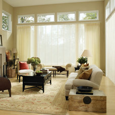 Contemporary Curtains by Designer Window Fashions