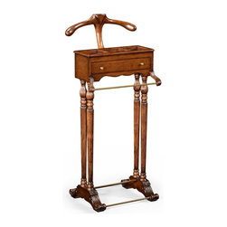 Jonathan Charles - New Jonathan Charles Valet Stand Walnut - Product Details