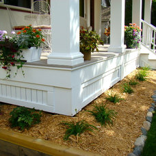 Traditional Porch by Home Restoration Services, Inc.