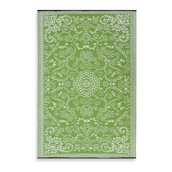 Fab Habitat - Fab Habitat Murano Indoor/Outdoor Rug - These beautiful rugs feature vibrant hues while bringing together traditional and modern aesthetics. The rugs are made using recycled, plastic straws woven tightly together to provide strength, softness and beauty.