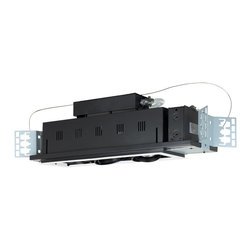 Jesco Lighting - Jesco MGP20-3WB 3-Light Double Gimbal Linear Recessed Line Voltage Fixture - Jesco MGP20-3WB 3-Light Double Gimbal Linear Recessed Line Voltage Fixture