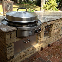 Evo Affinity 30G Circular Cooktop - Evo Outdoor Kitchen