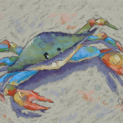 """Roweboat Art Inc - 'Pincher' Fine Art Reproduction, 20x16 - Original art reproduction by artist Robin Rowe, gallery wrapped on 1.5"""""""