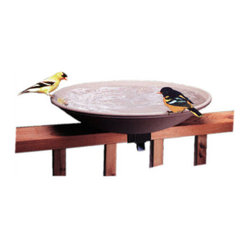 Non Heated Bird Bath with Ez Tilt Deck Mount
