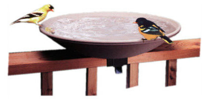 contemporary bird baths by teakwickerandmore.com