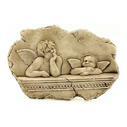 Artistica - Hand Made in Italy - MUSEUM: The Putti (Cherubs) (Raffaello - Sistine Madonna Painting) - MUSEUM Collection: Refined reproduction of renowned Roman Italian artworks.