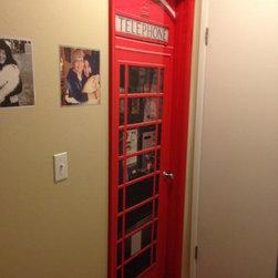 British telephone booth door wrap - Randy Miller