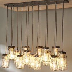 Exeter pendant light - Pottery Barn -