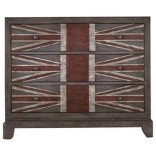 Rustic Dressers Union Jack Chest