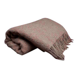 Decicle Alpaca Throw Blanket, Light Taupe - We never thought wool could be so chic and cozy. This amazing decorative sofa throw blanket proves us wrong by combining hand loomed and hand finished wool with Baby Alpaca for a feel that is soft, textural and super gorge on a couch or bed.