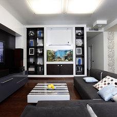 Modern Living Room by Natalia Skobkina