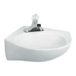 American Standard - Cornice Pedestal Sink Combo in White - American Standard 0611.400.020 Cornice Pedestal Sink Combo in White.