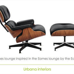 Eames Lounge reproduction - Eames lounge chair and ottoman reproduction.