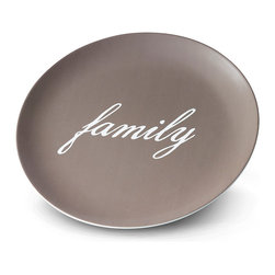 In Your Words Plate - Make a statement in your own words on a personalized plate. Choose from lots of layouts and backgrounds.